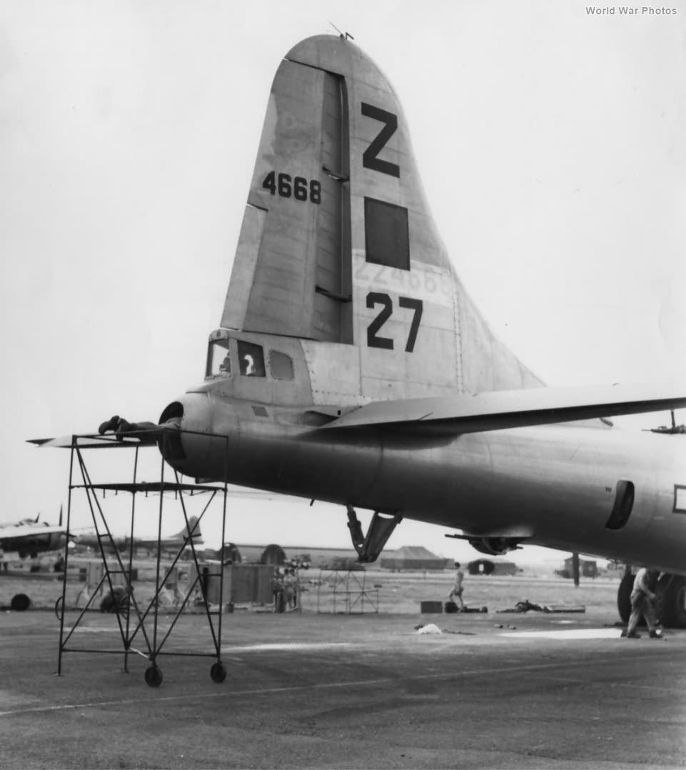 B-29 42-24668 500th BG Guam