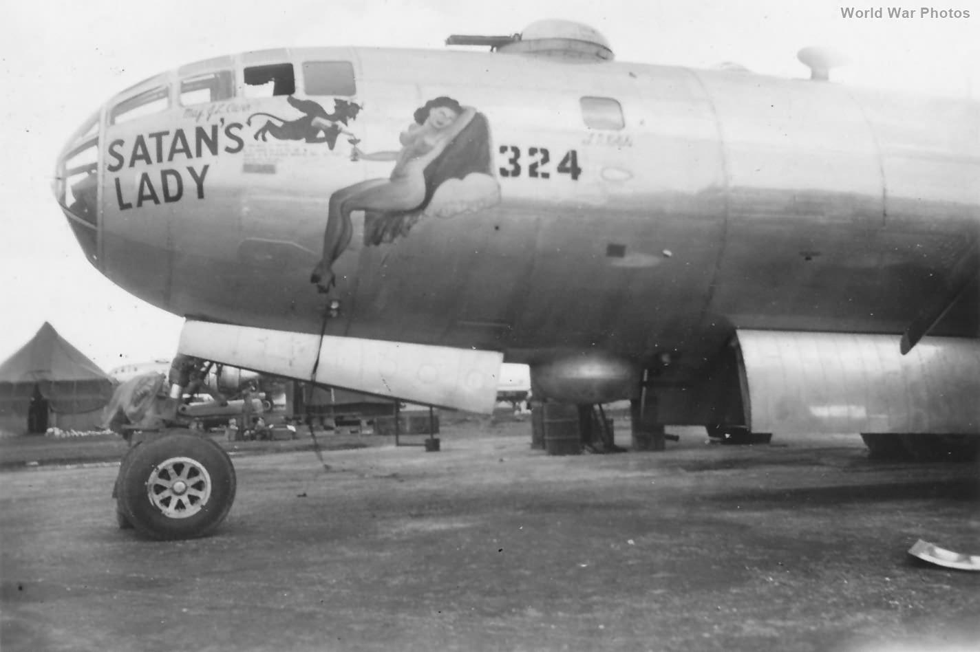 "B-29 42-24779 ""Satan's Lady"" of the 504th BG, 412st BS"