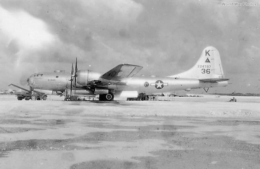 B-29 42-24797 K-349 of the 505th BG, 484th BS