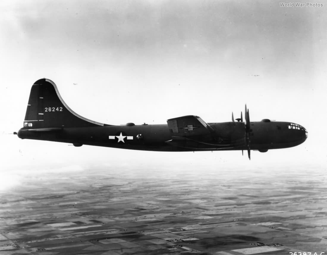 B-29 42-6242 in flight November 1943