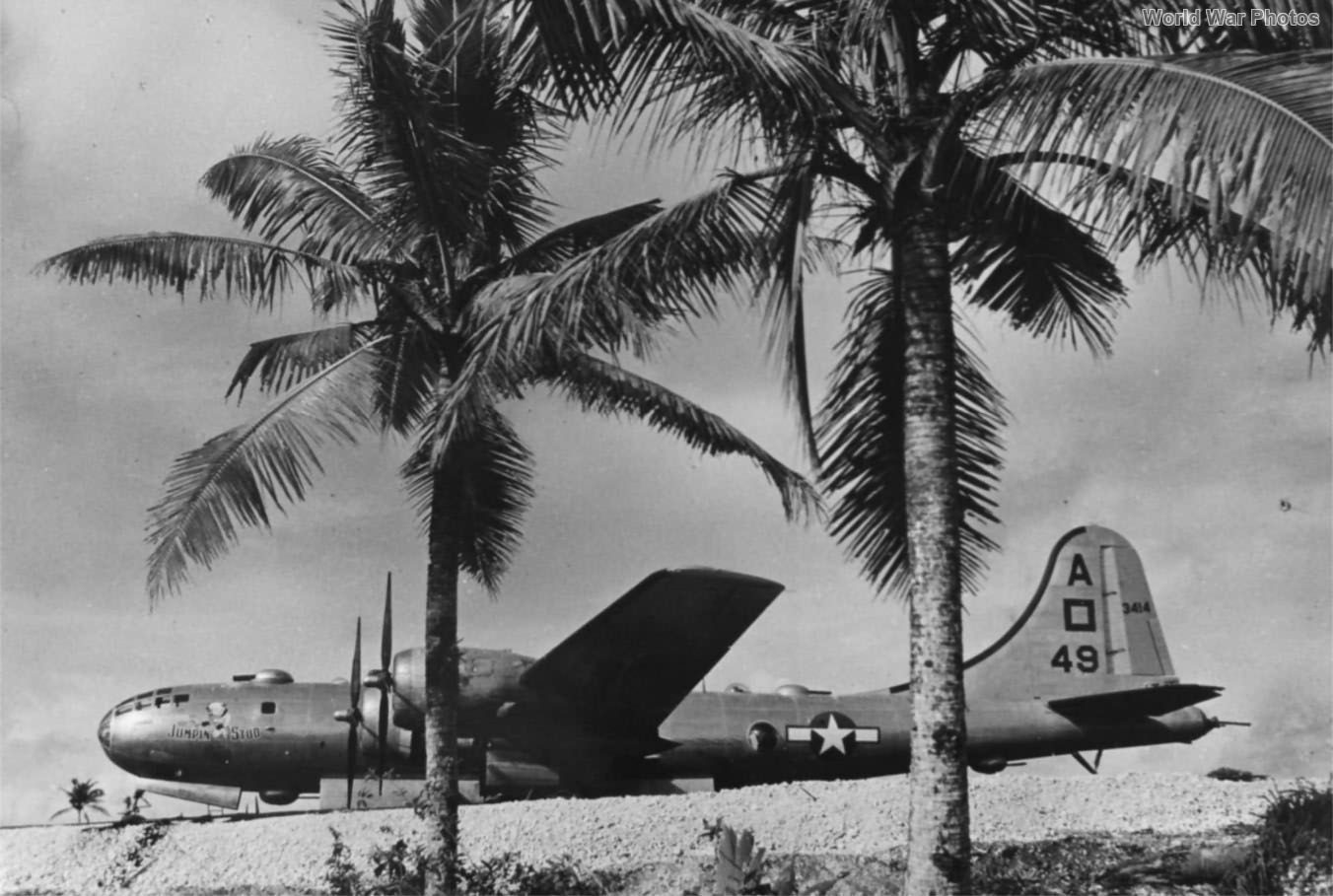B-29 42-63414 of the 497th BG