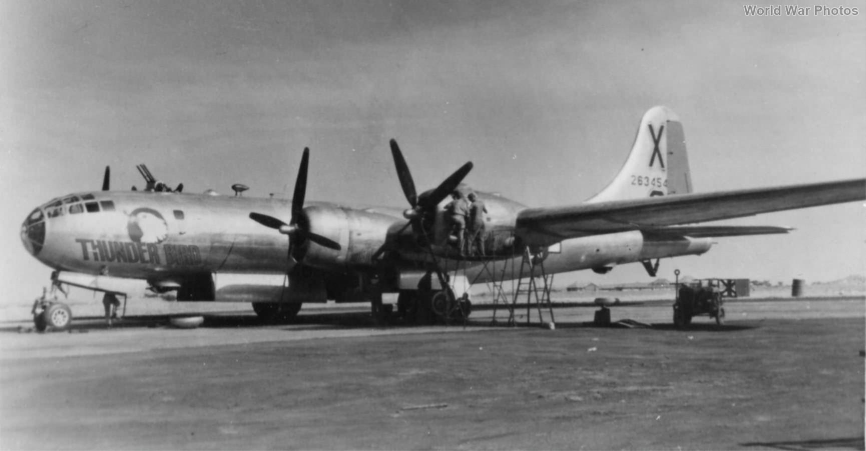 B-29 42-63454 Thunder Bird of the 462nd BG