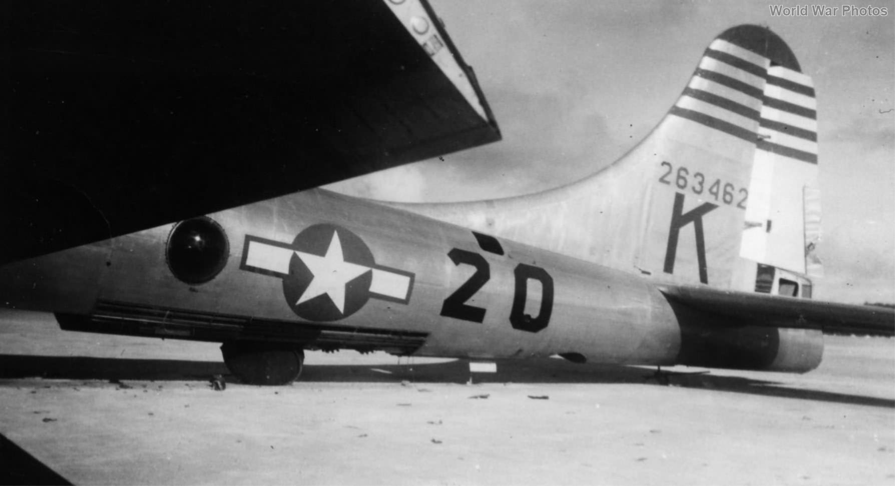 B-29 42-63462 of the 40th BG, 44th BS