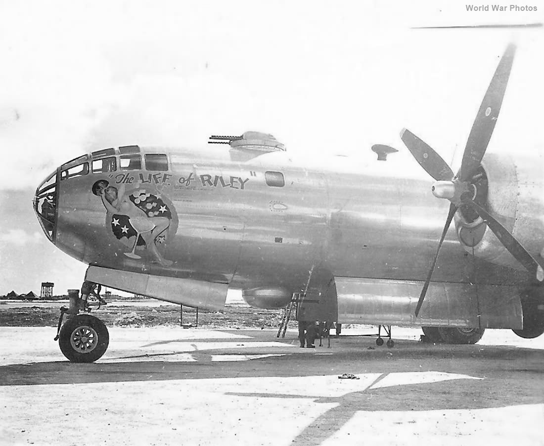 "B-29 42-65241 ""The Life Of Riley"" of the 504th BG"
