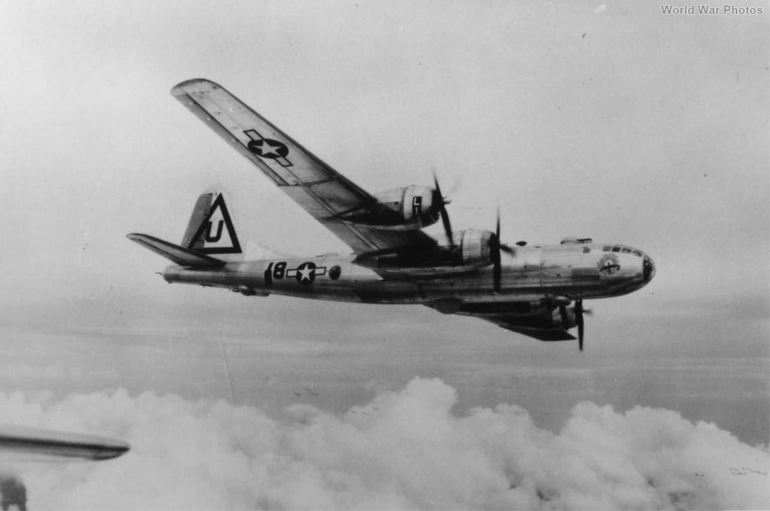 "B-29 44-61639 ""Hellbird"" of the 462nd BG, 768 BS"
