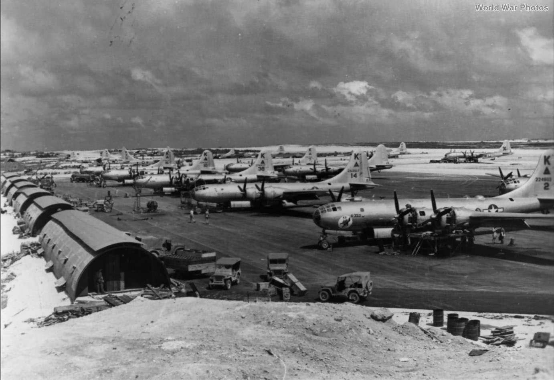 B-29 of the 505th BG 19 April 1945
