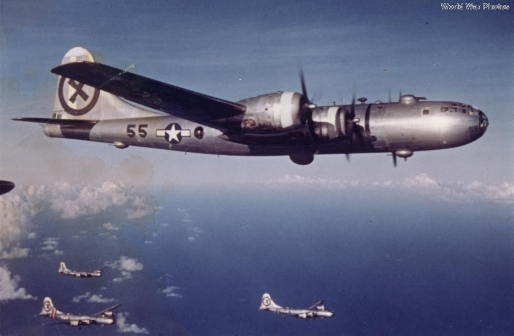 B-29 55 of the 9th Bomb Group