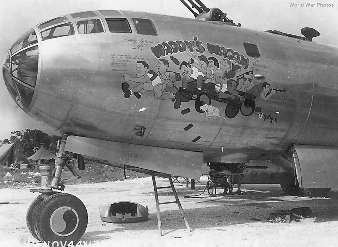 B-29 Waddy's Wagon of the 497th Bomb Group, 886th BS November 1944