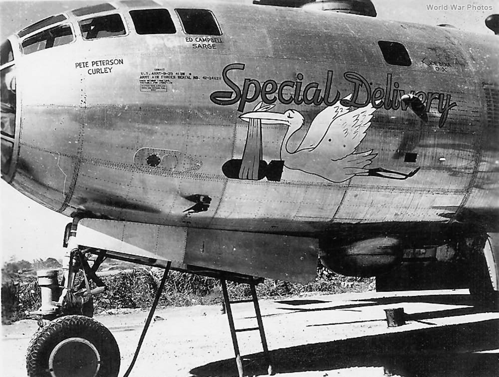 "B-29 42-24628 ""Special Delivery"" of the 497th BG"