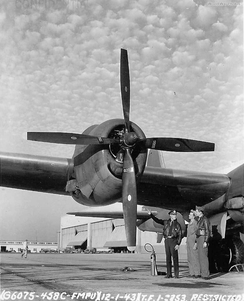 B-29 December USA 1943