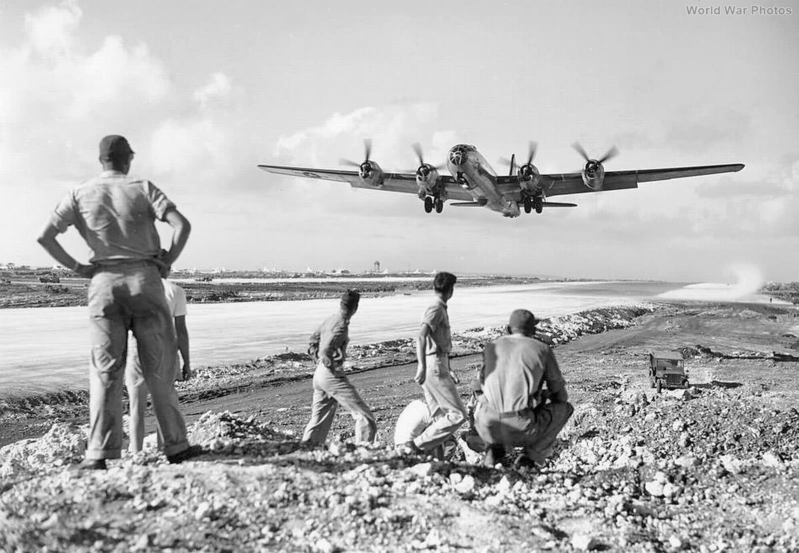 B-29 take off