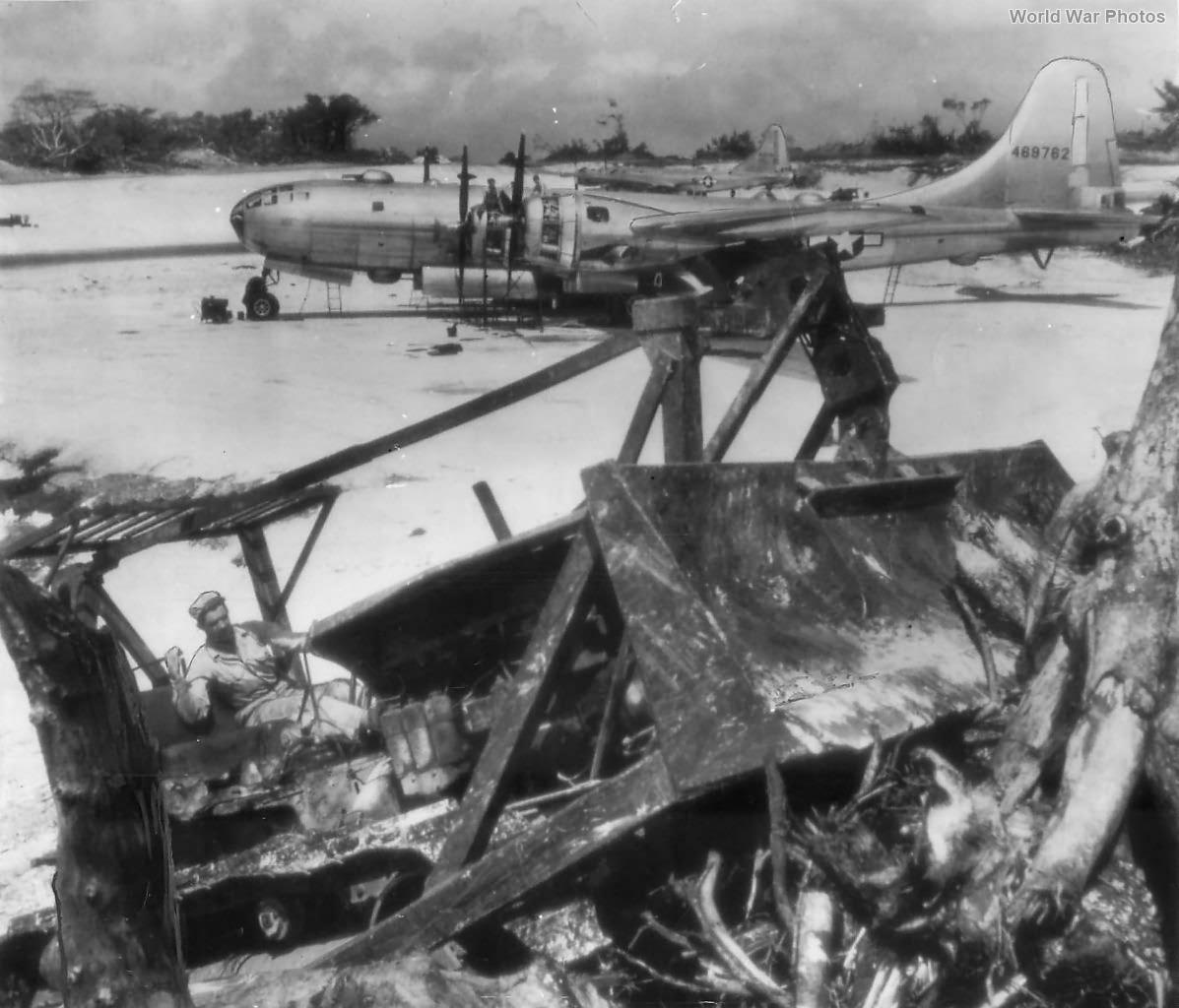 Bulldozer and B-29 Marianas 1945