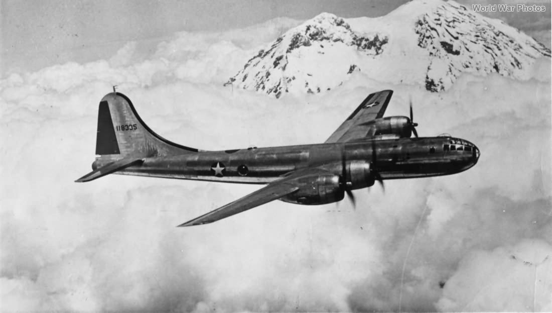 XB-29 41-18335 3rd prototype 1942