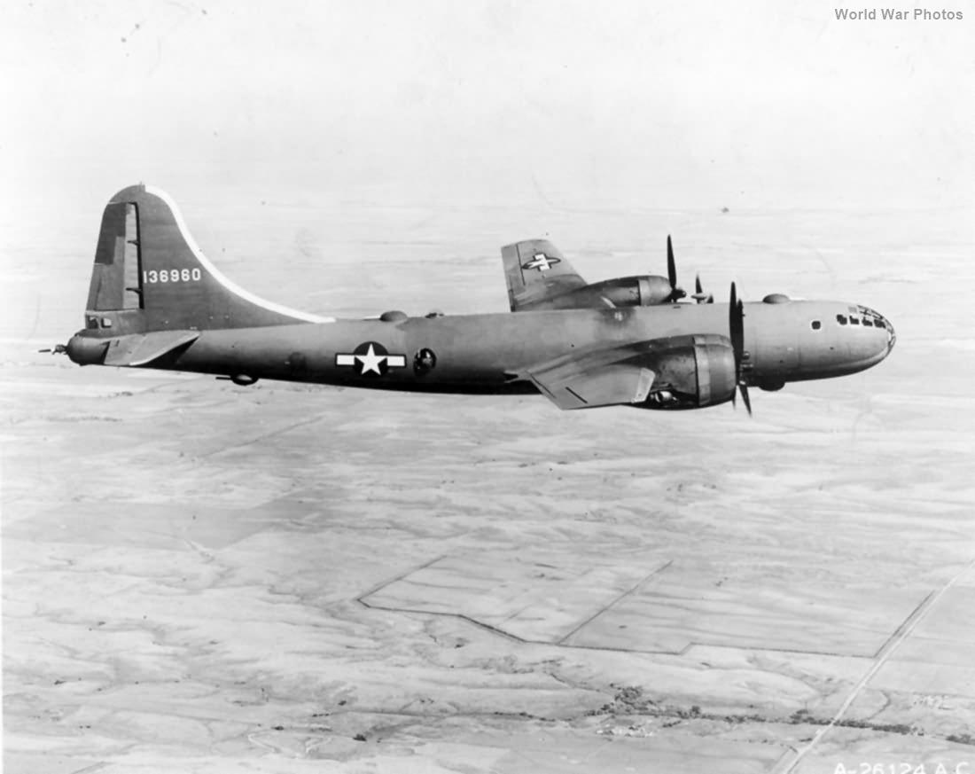 YB-29 41-38690 in flight