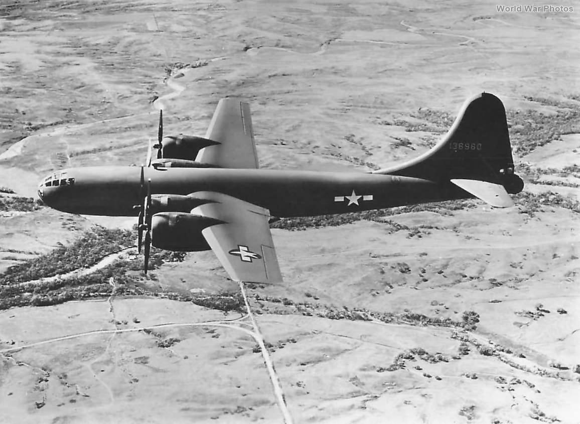 YB-29 41-36960 in flight