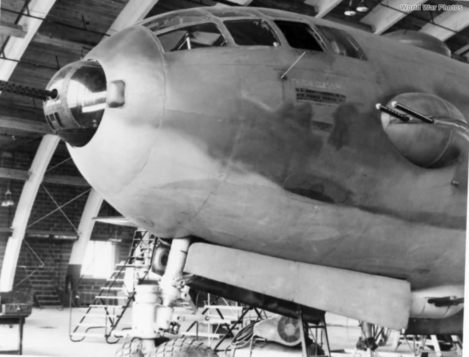 YB-29 escort conversion 1943