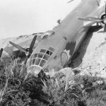 Crashed 509th Bomb Group B-29 1945