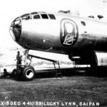 "B-29 42-24591 ""Lucky Lynn"" of the 497th BG, 869th BS"