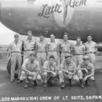 "B-29 42-24596 ""Little Gem"" of the 497th BG, 869th BS Saipan"