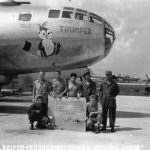 B-29 Thumper of 504th BG 21 February 1945