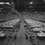 B-29 wings on assembly line at Renton Plant