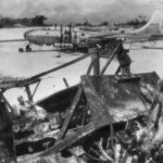 Bulldozer and B-29 Marianas 1945