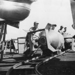 Ground Crew loads 4000 lb bombs on B-29s of 73rd BW on Saipan 1945