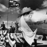 Unveiling of B-29 44-70118 Ernie Pyle 1945