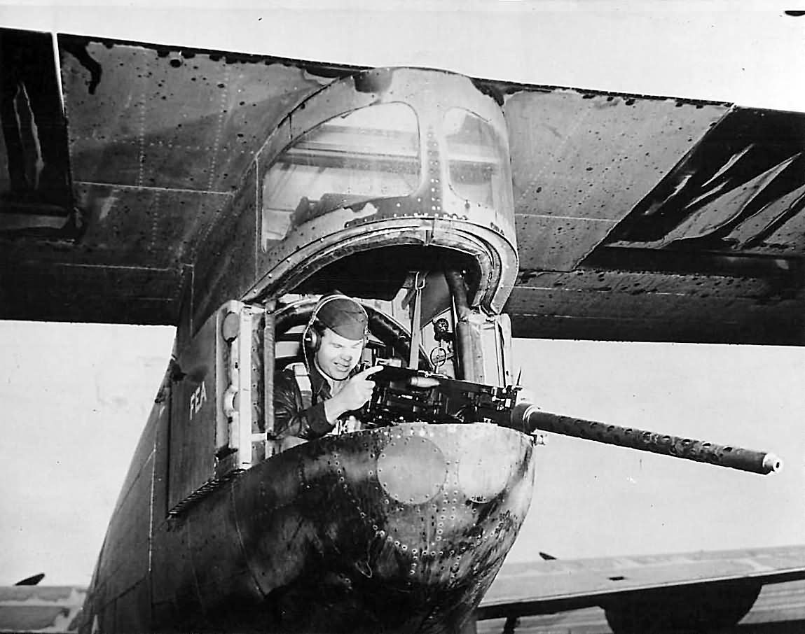 Tail_gunner_aboard_US_Ferry_Command_C-87