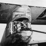 Tail gunner aboard US Ferry Command C-87 Liberator Express 1942