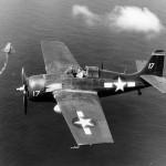 """General Motors FM-2 Wildcat """"17"""" of the USS Santee CVE-29"""