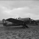 Grumman Martlet Mk II AJ132 'B' from No 881 Squadron FAA McKinnon Road East Africa
