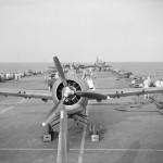 Grumman Martlet on the flight deck of HMS Formidable September 1942