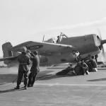 Martlet on coard HMS Formidable December 1942