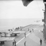 Martlets on board HMS Formidable April 1943