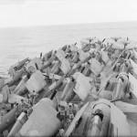 Martlets on the flight deck of HMS Illustrious December 1942 Indian Ocean