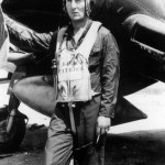 Capt Floyd Kirkpatrick VMF-441 Ace By F4U-1D Corsair