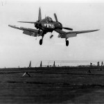 F4U-1A Corsair #36 of VF-17 USS Bunker Hill CV-17 on September 14, 1943