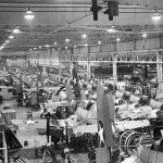 F4U Corsair assembly line