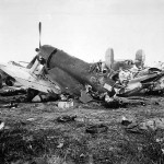 F4U Corsair wreck Leyte
