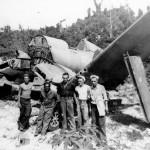 F4U Corsair wreckage Peleliu