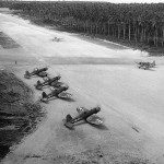 F4U Corsairs VMF-222 Russell Islands – September 7, 1943