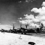 Marine F4U Corsairs at Munda Field September 1943