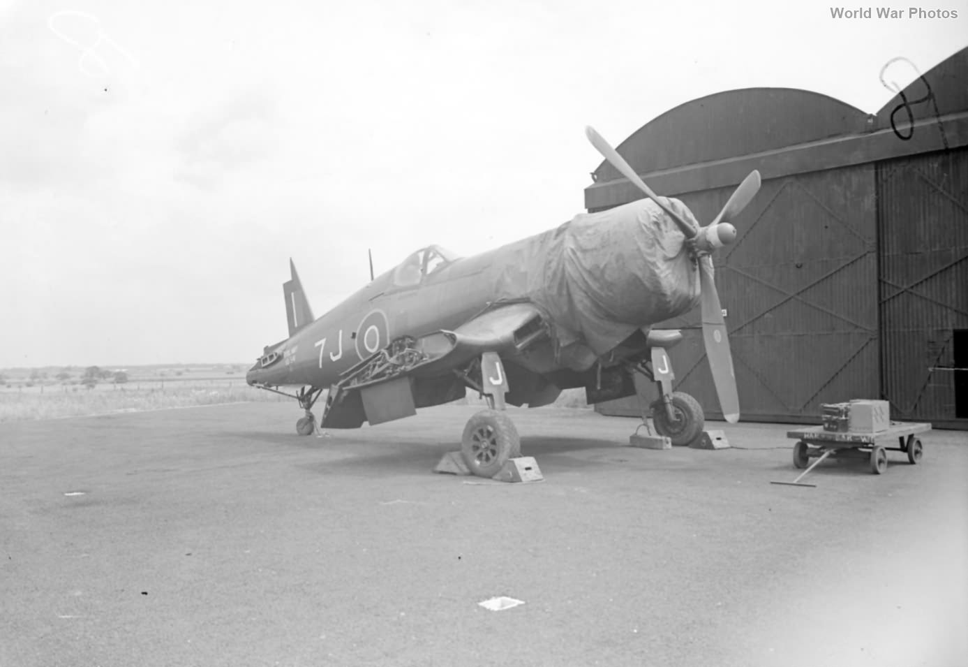 Corsair fuselage june 1945