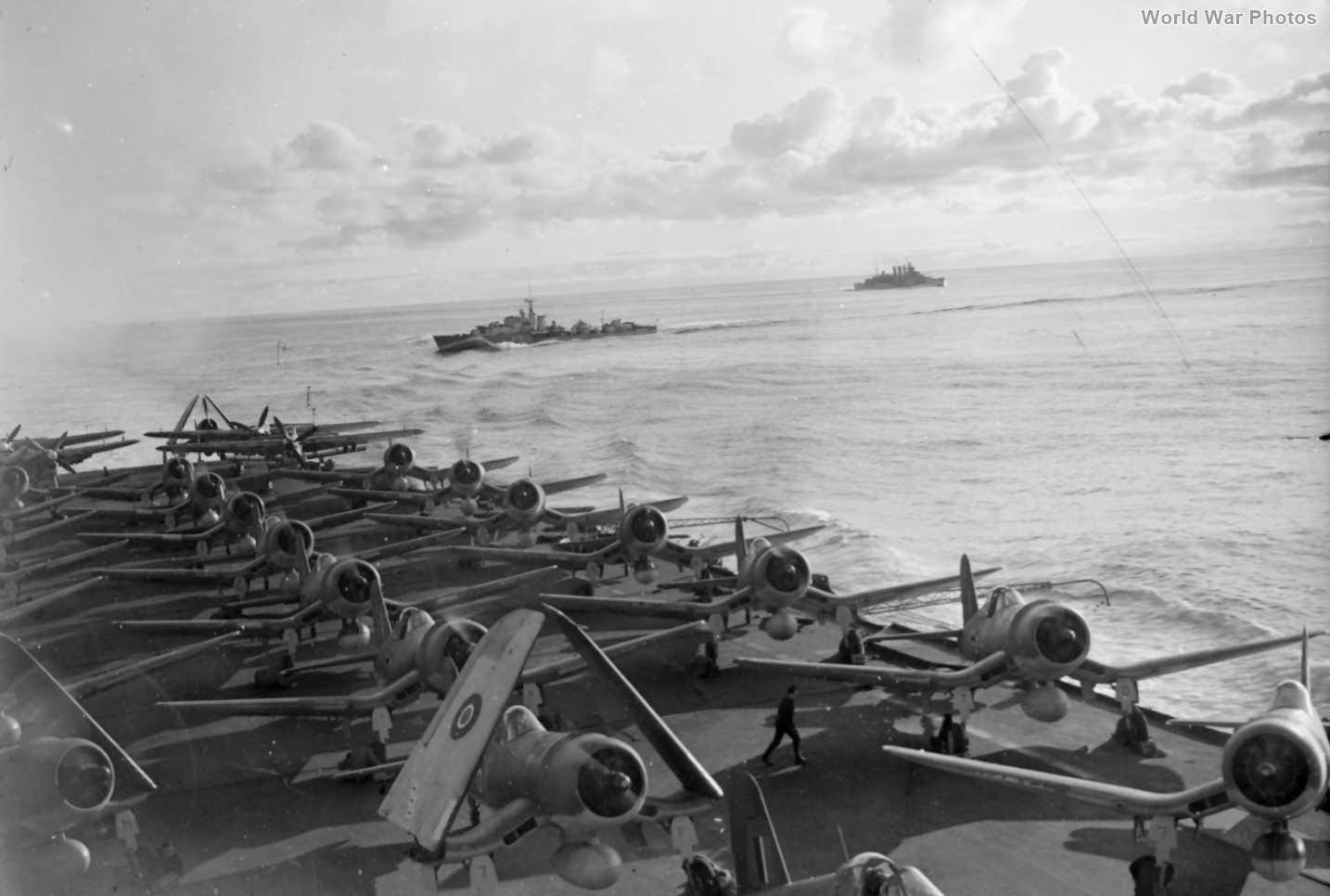 Corsairs HMS Victorious 1 June 1944