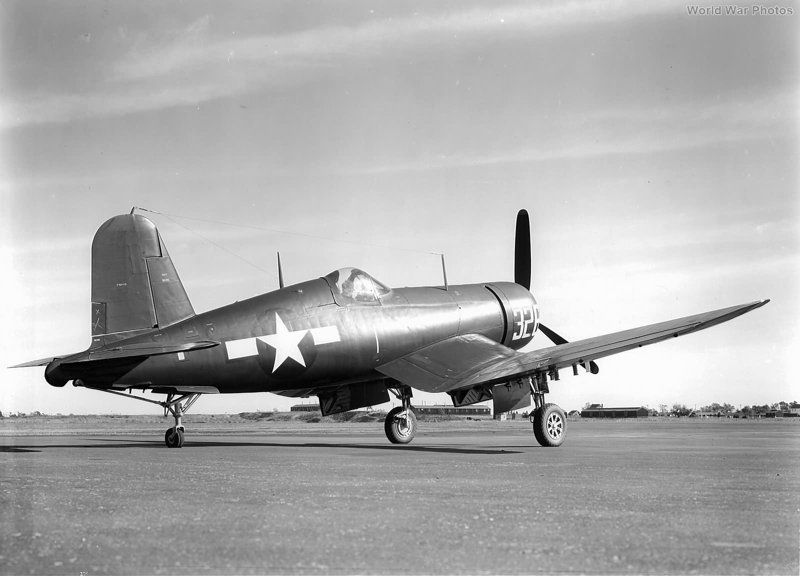 F4U-1D in the Vought Plant 1944