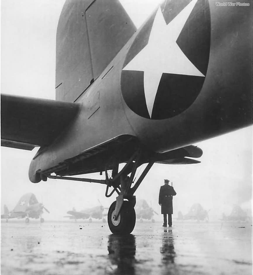 F4U-1 tail wheel '43