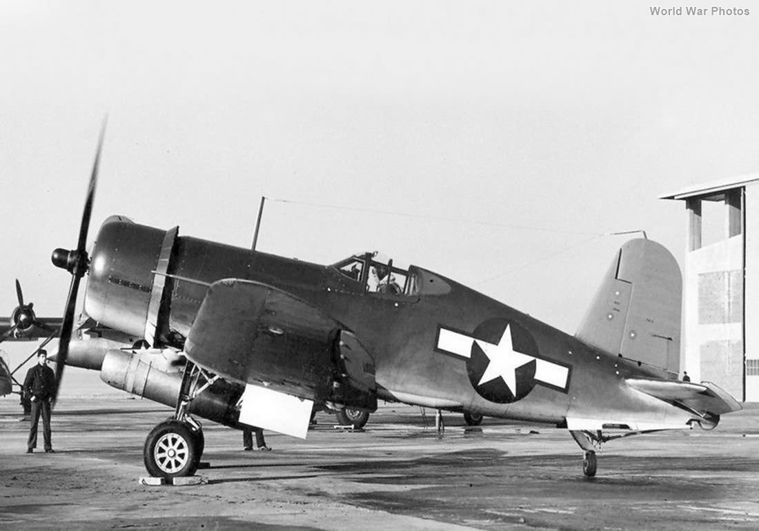 F4U-1 test