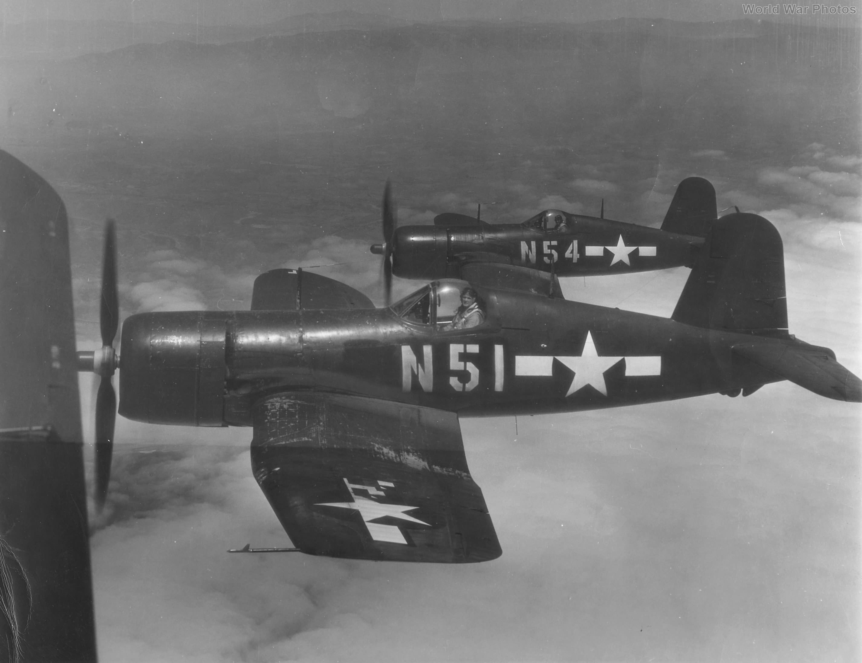 F4U-4 of VMF-155 flown by John Glenn