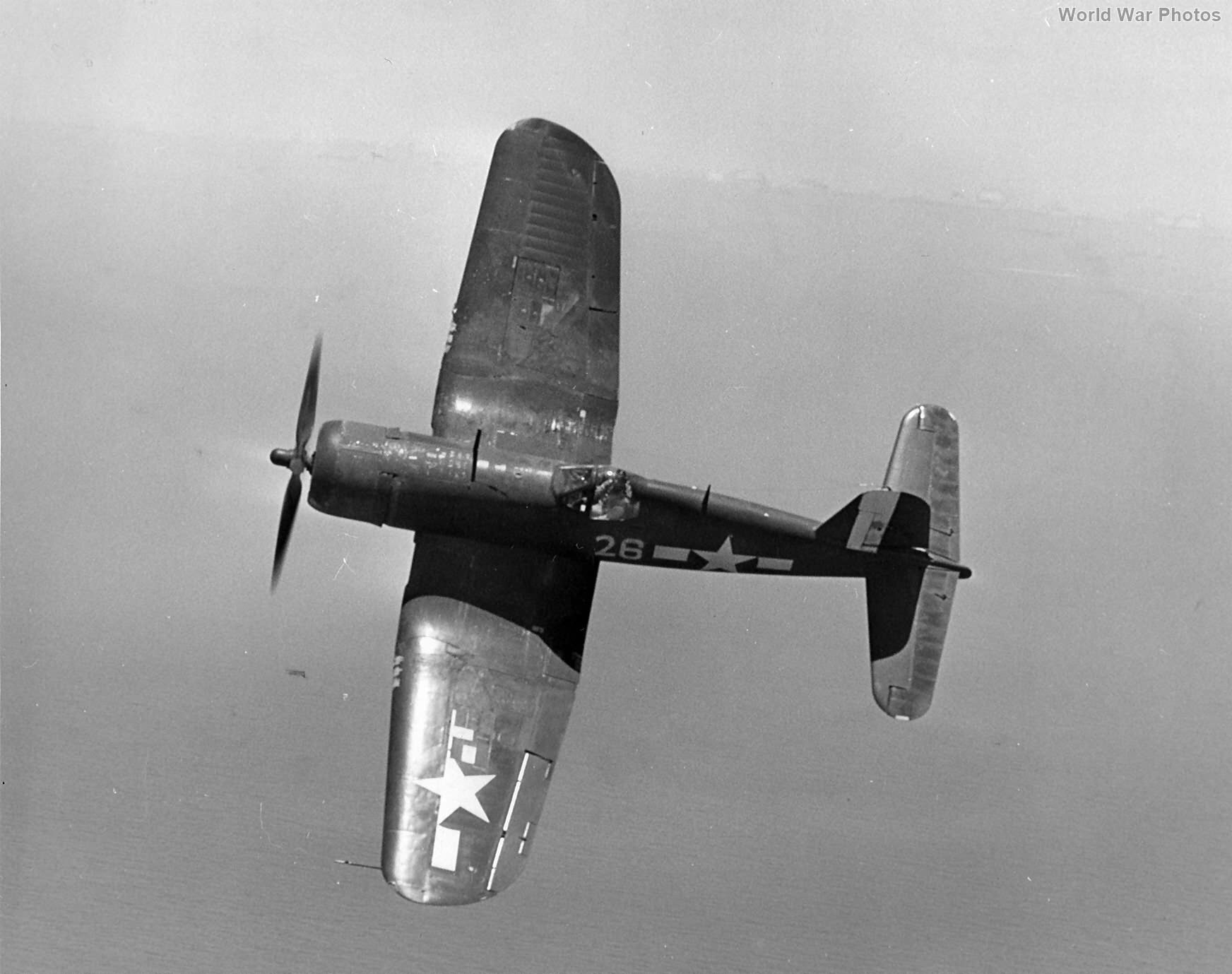 F4U-1D 26 of the VBF-10 from USS Intrepid